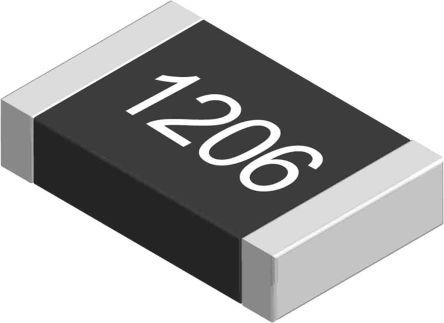 Yageo 47 O, 47 O, 1206 (3216M) Thick Film SMD Resistor 5% 0.25W - AC1206JR-0747RL (5000)