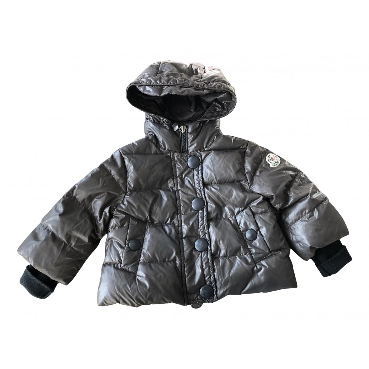 Moncler - Blousons.Manteaux Hood pour enfant - marron