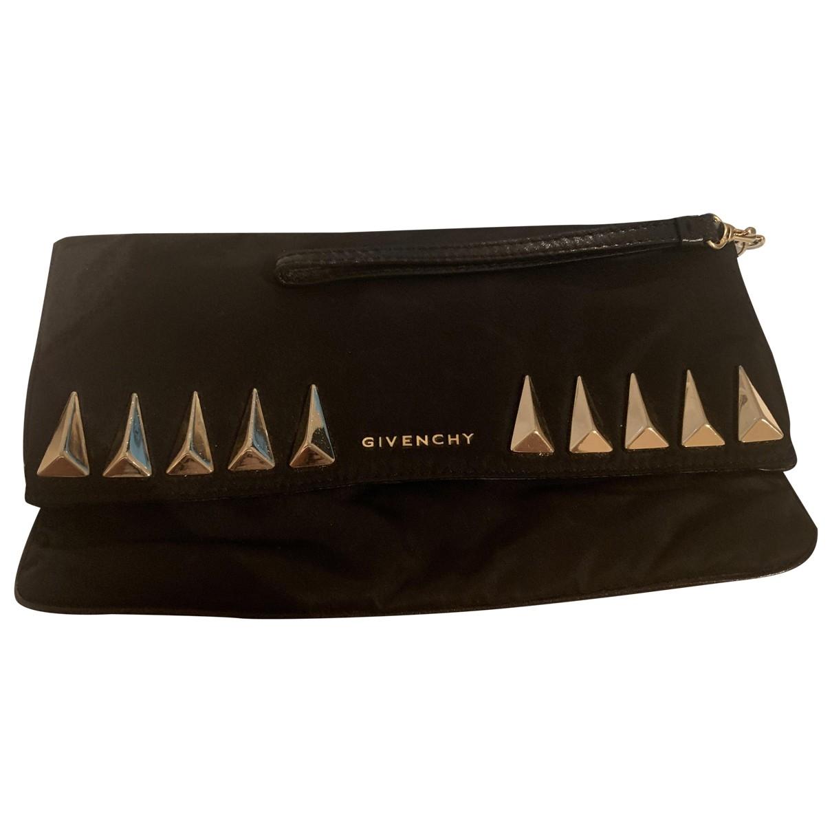 Givenchy \N Black Cloth Clutch bag for Women \N