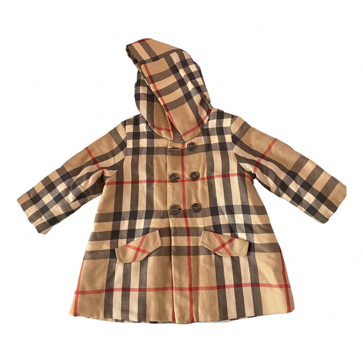 Burberry N Camel Wool jacket & coat for Kids 12 months - up to 74cm FR