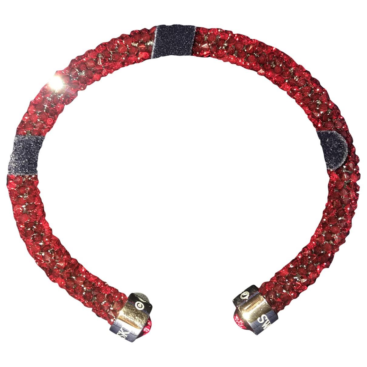 Swarovski Stardust Armband in  Rot Kristall