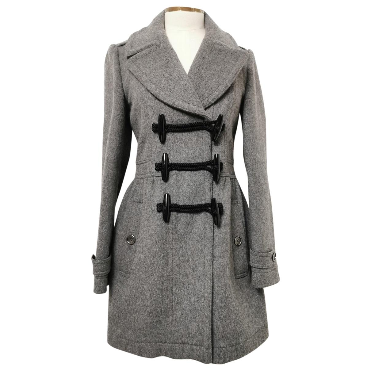 Burberry \N Grey Wool coat for Women 38 IT