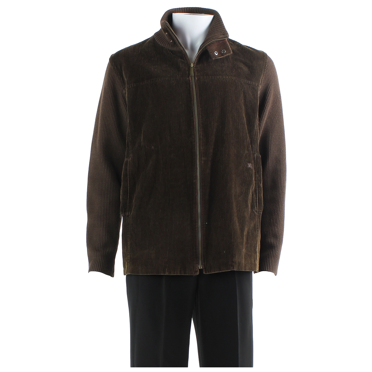 Burberry \N Jacke in  Braun Wolle