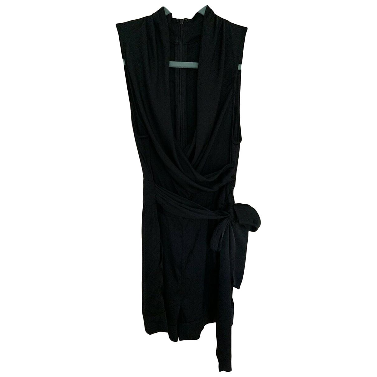 Catherine Malandrino - Combinaison   pour femme en soie - noir