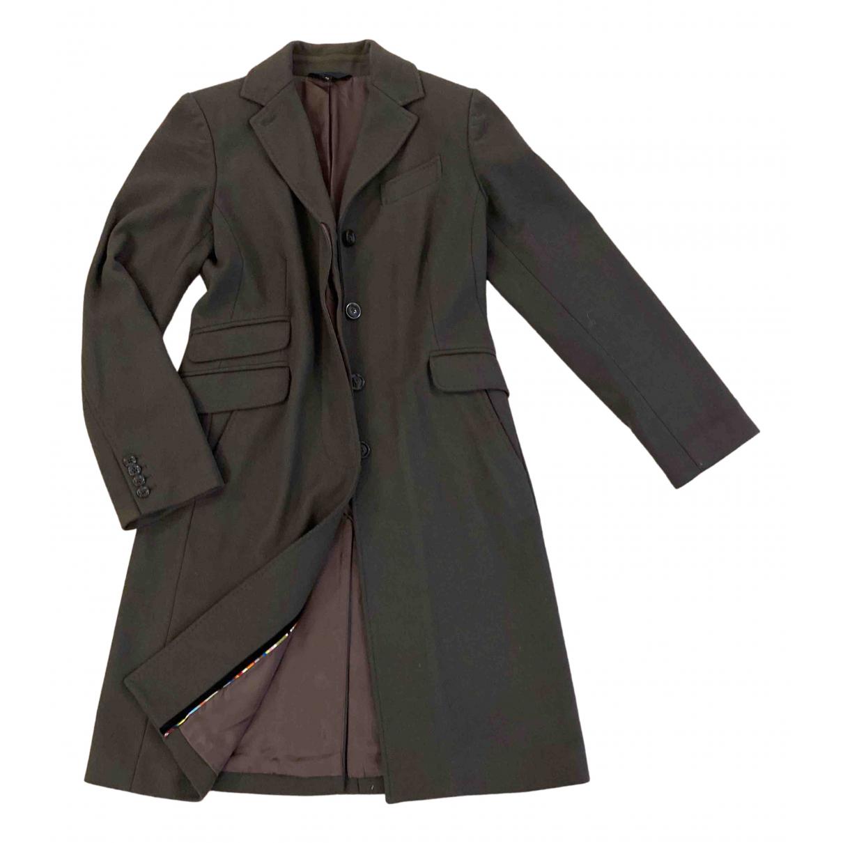Paul Smith N Green Wool coat for Women 42 IT