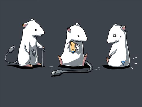 Computer Mice T Shirt