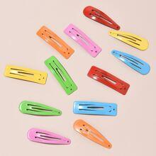 12pcs Colorful Hair Clip
