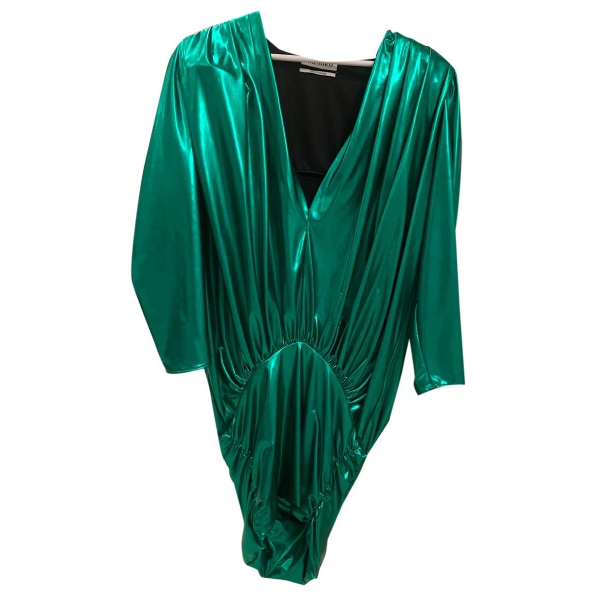 Attico - Robe   pour femme - vert