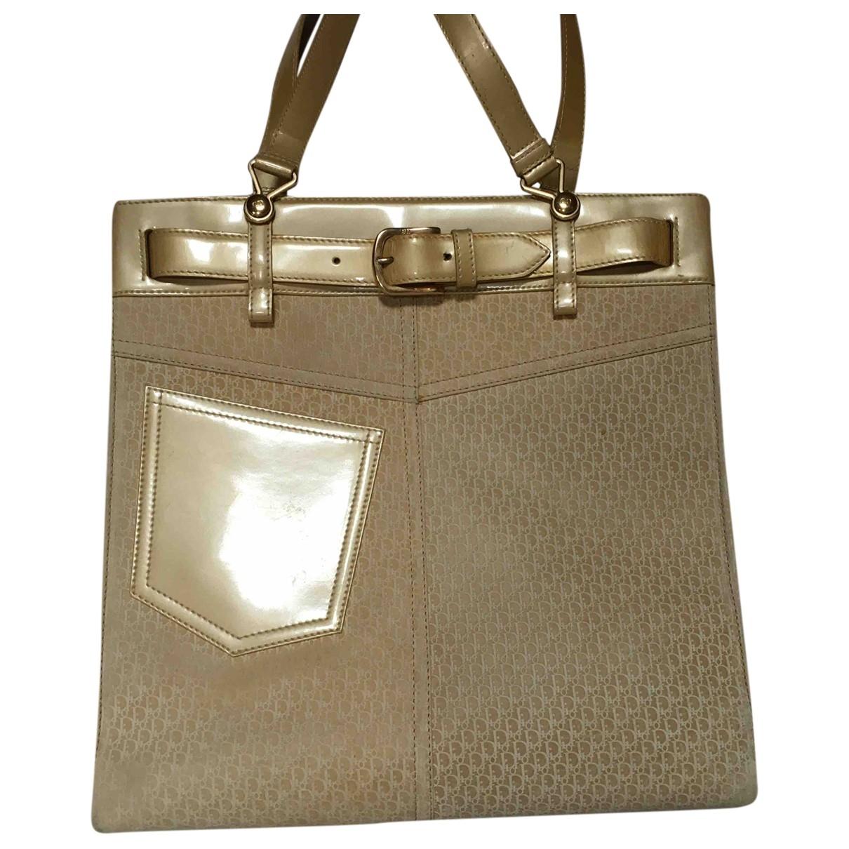 Dior \N Yellow Cloth handbag for Women \N
