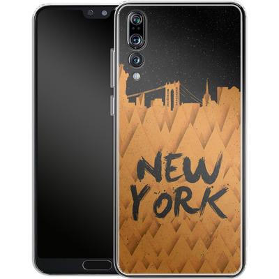 Huawei P20 Pro Silikon Handyhuelle - New York City von Danny Ivan