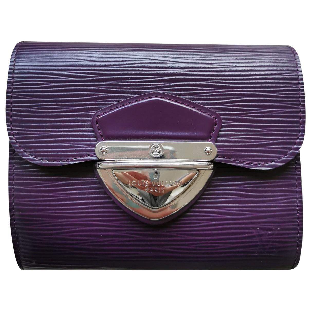 Louis Vuitton - Portefeuille Koala pour femme en cuir - violet