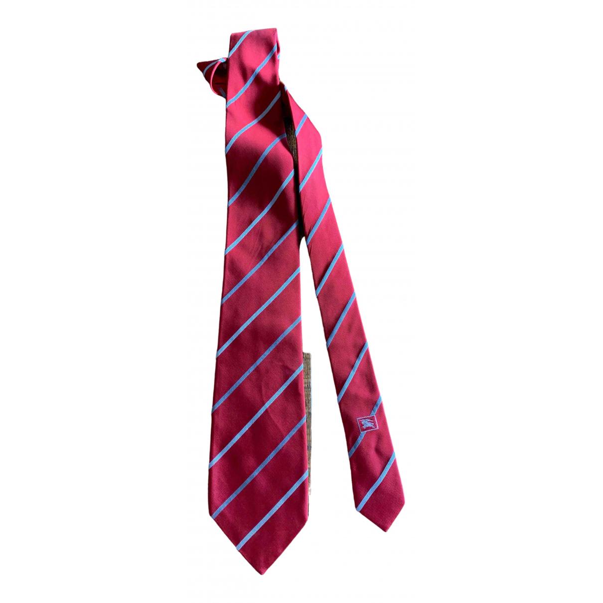 Burberry \N Multicolour Silk Ties for Men \N