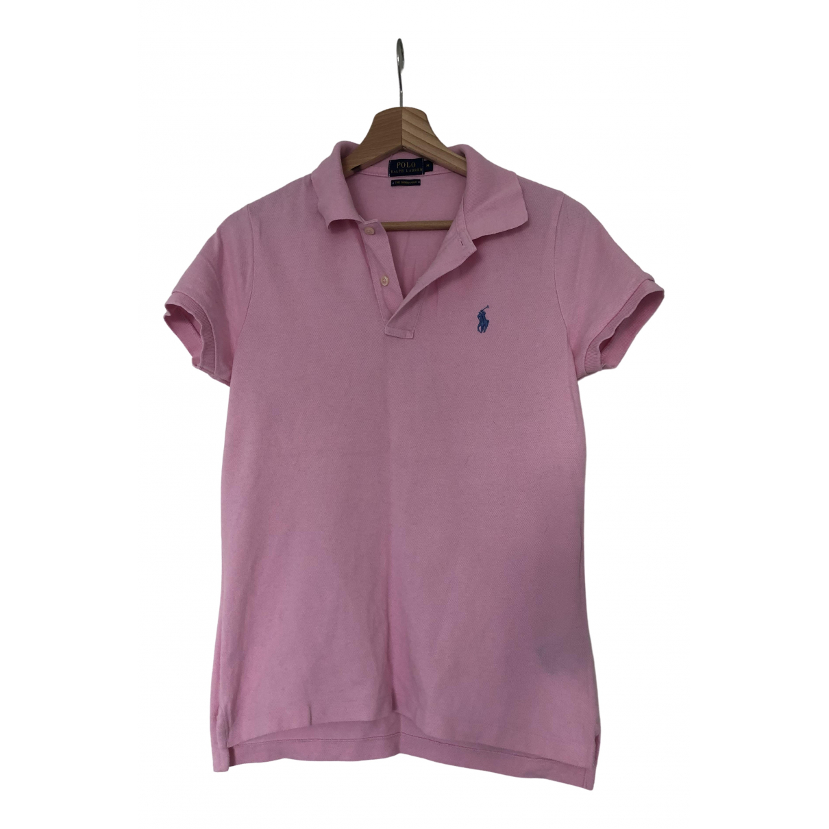 Polo Ralph Lauren \N Top in  Rosa Baumwolle