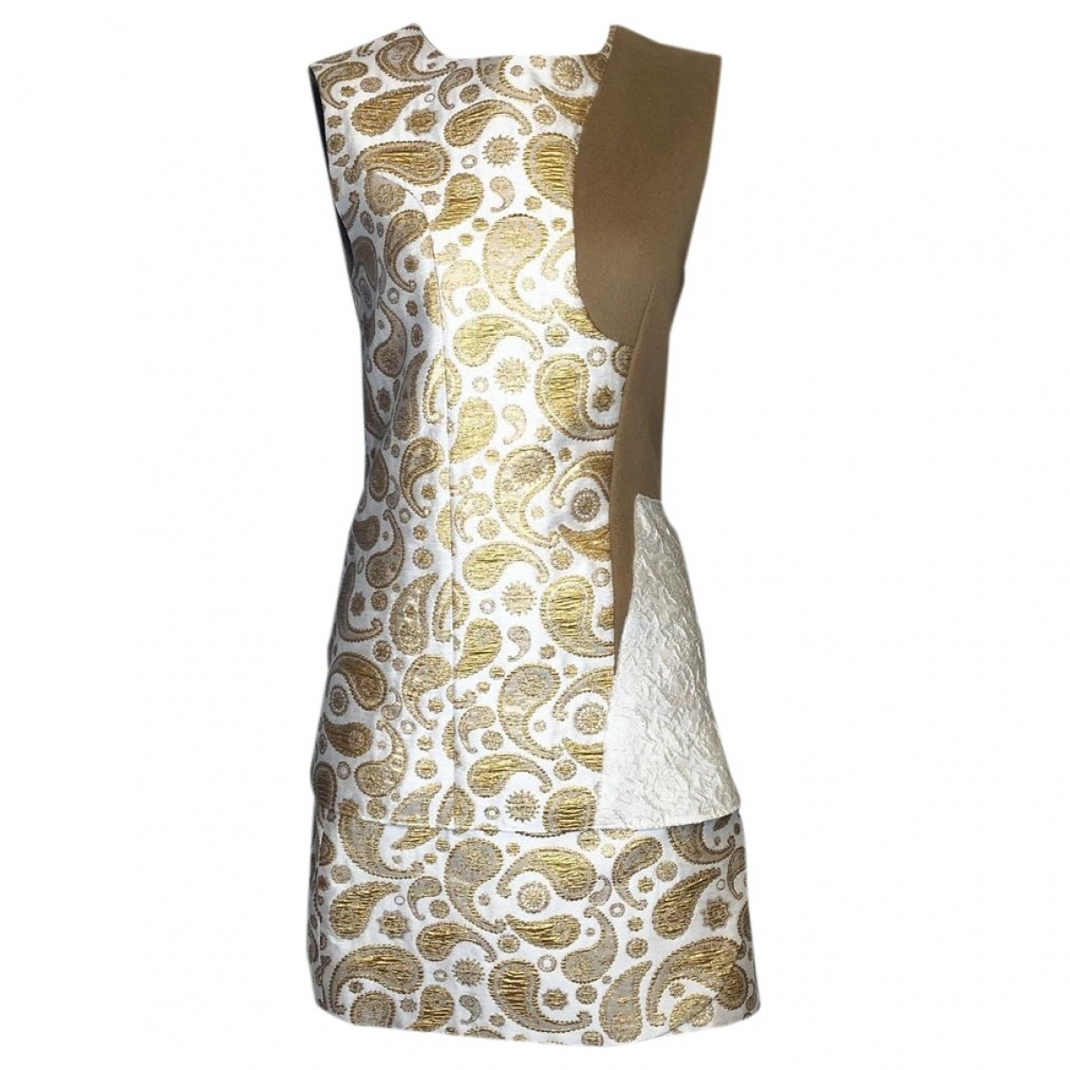 Stella Mccartney \N Kleid in  Gold Baumwolle