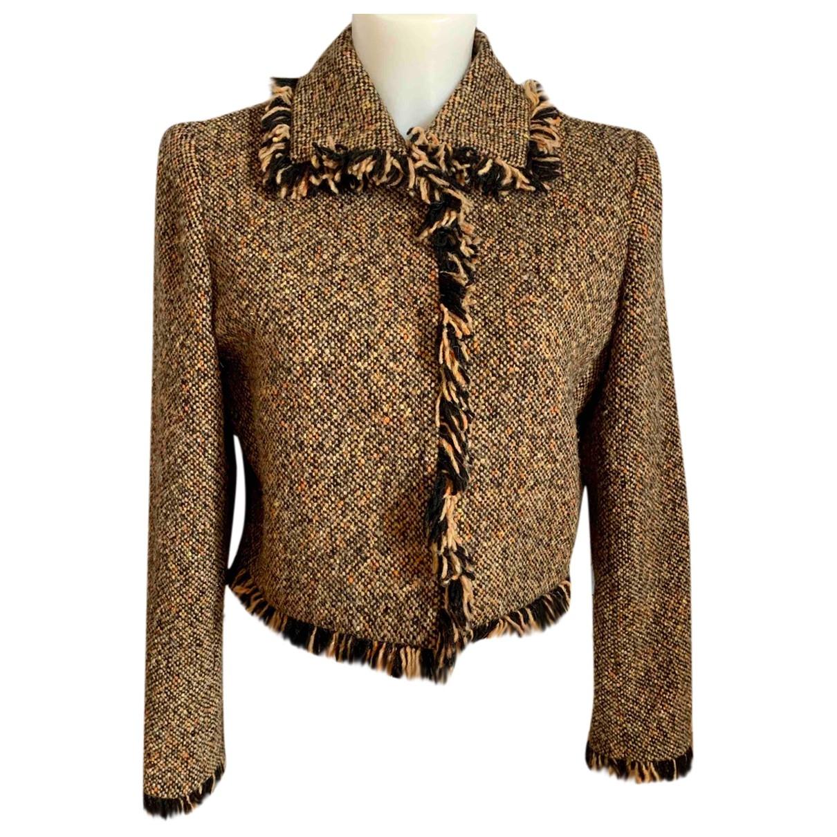 Yves Saint Laurent - Veste   pour femme en laine - multicolore
