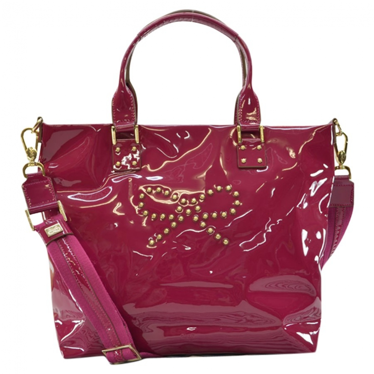 Anya Hindmarch \N Handtasche in  Rosa Lackleder