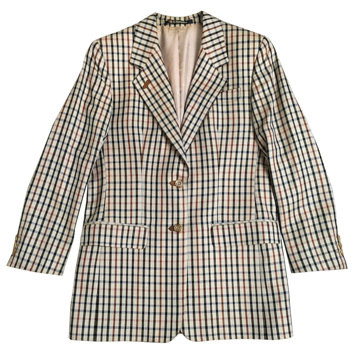 Daks \N Beige Wool jacket for Women 38 FR