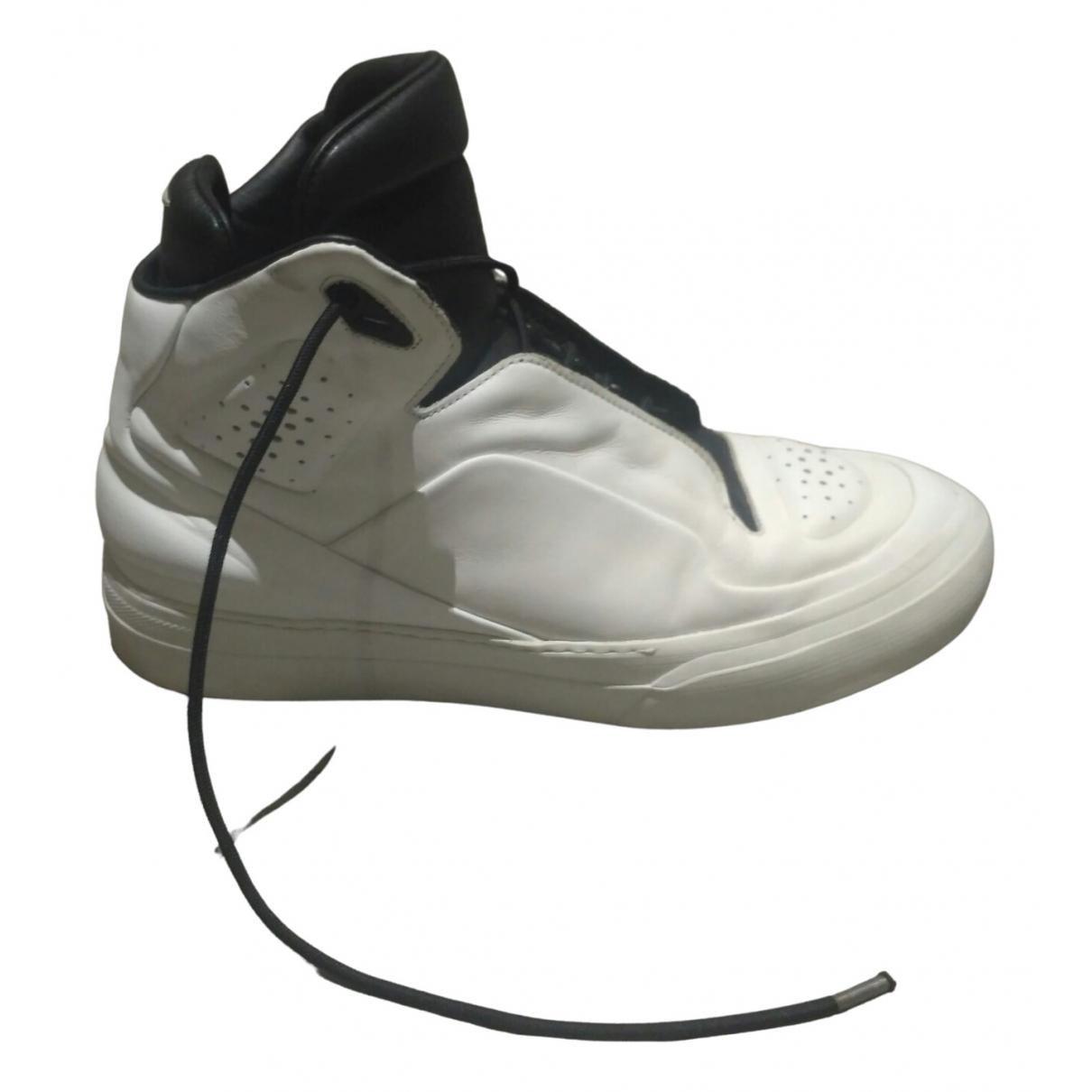 Maison Martin Margiela - Baskets   pour homme en cuir - blanc