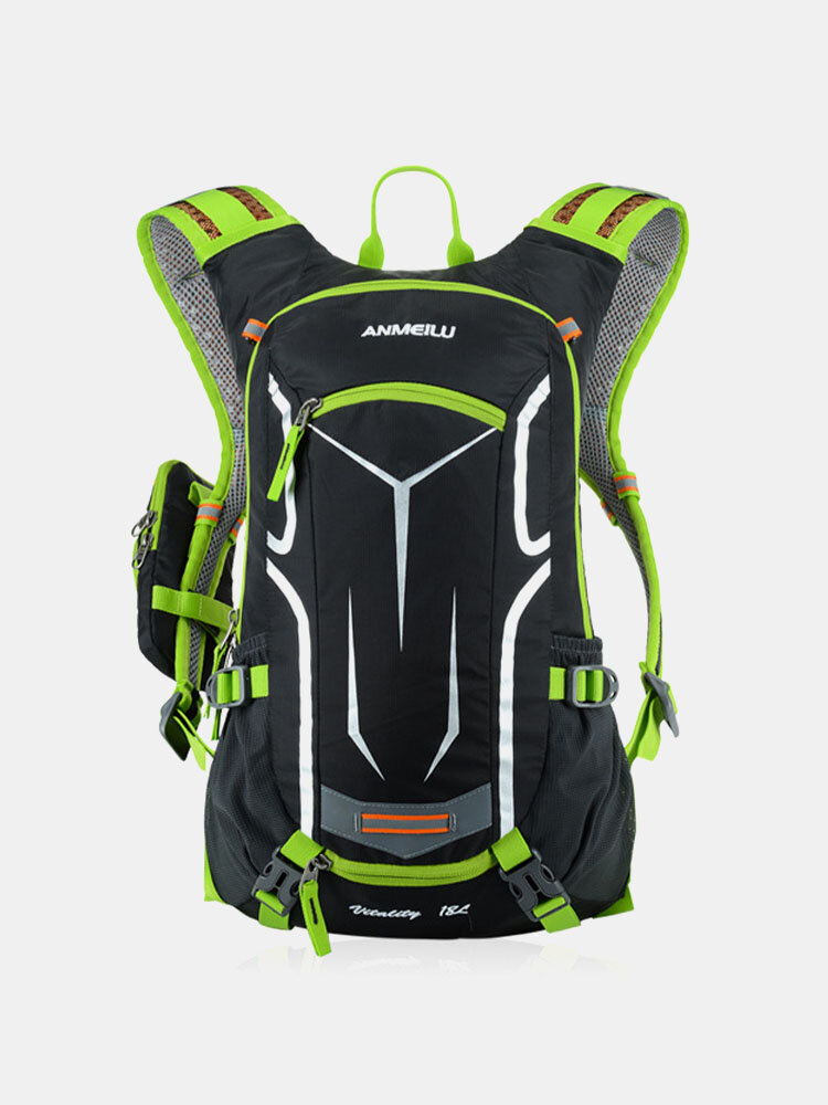 Men Reflective Cycling Outdoor Running Mountaineering Hiking backpack