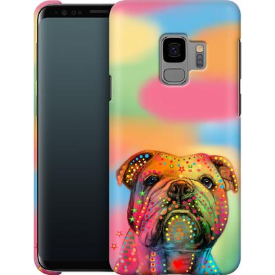 Samsung Galaxy S9 Smartphone Huelle - Bulldog von Mark Ashkenazi