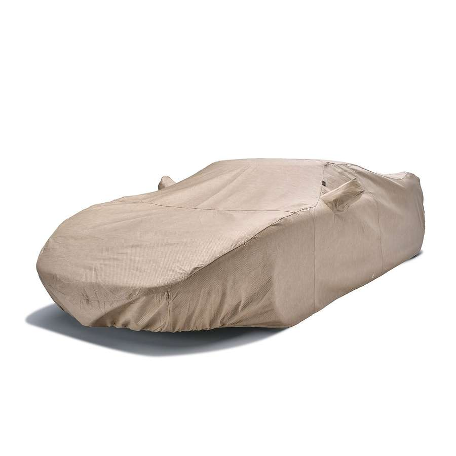 Covercraft C11137TS Dustop Custom Car Cover Taupe Pontiac Fiero 1988