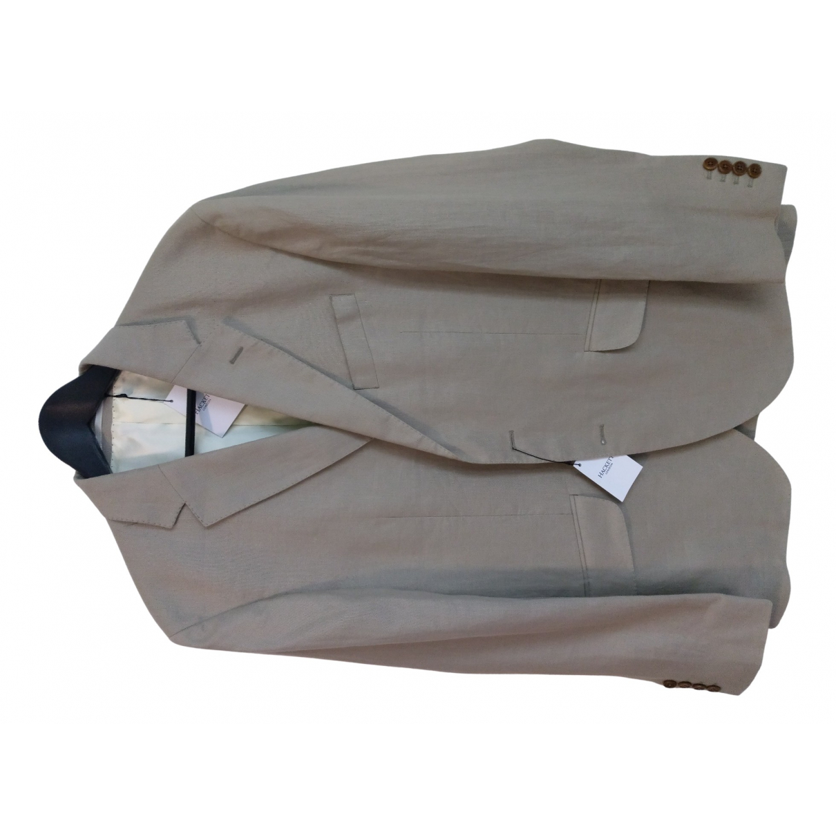 Hackett London N Beige Linen jacket  for Men XL International