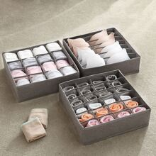 1pc Foldable Underwear Storage Box