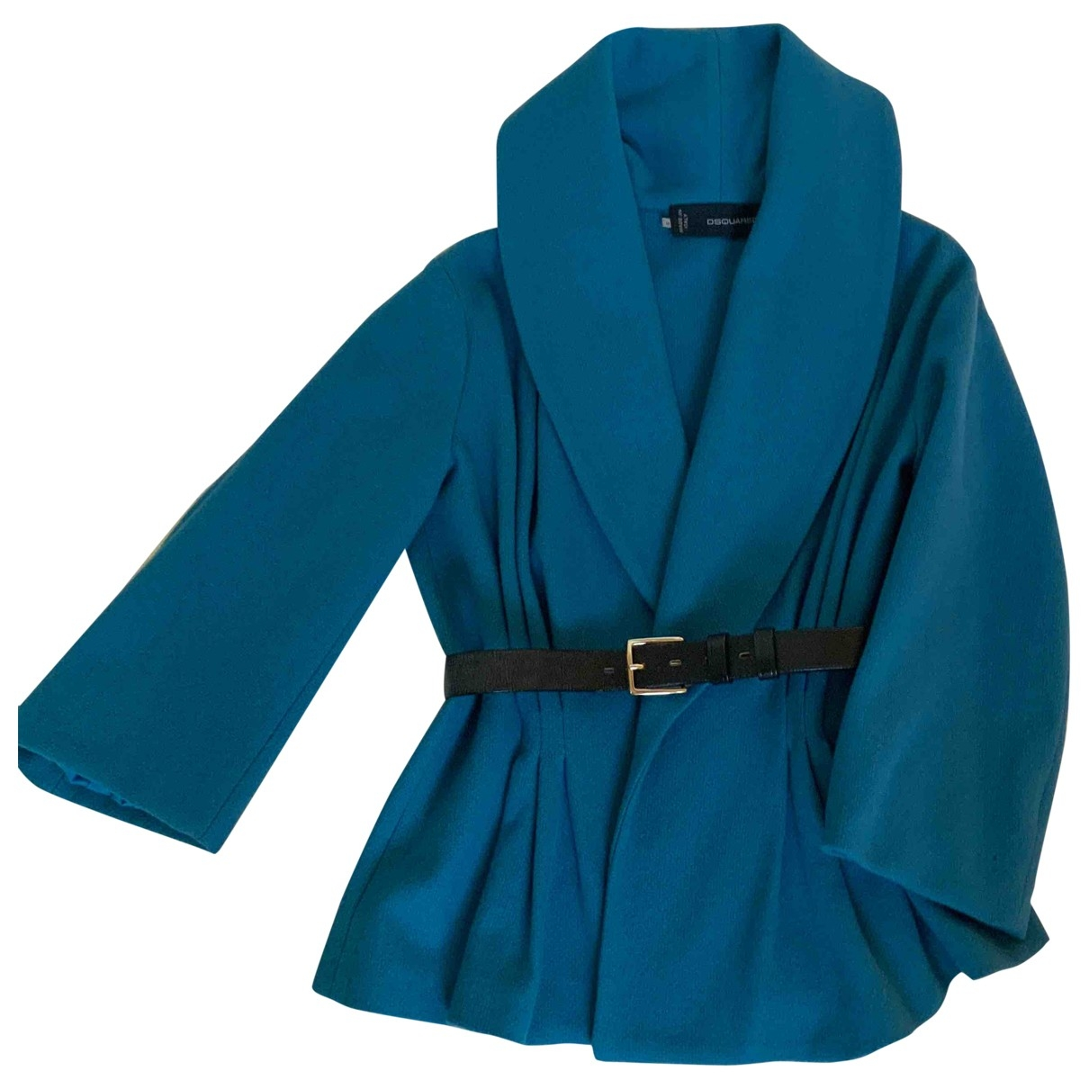 Dsquared2 \N Turquoise Wool jacket for Women M International