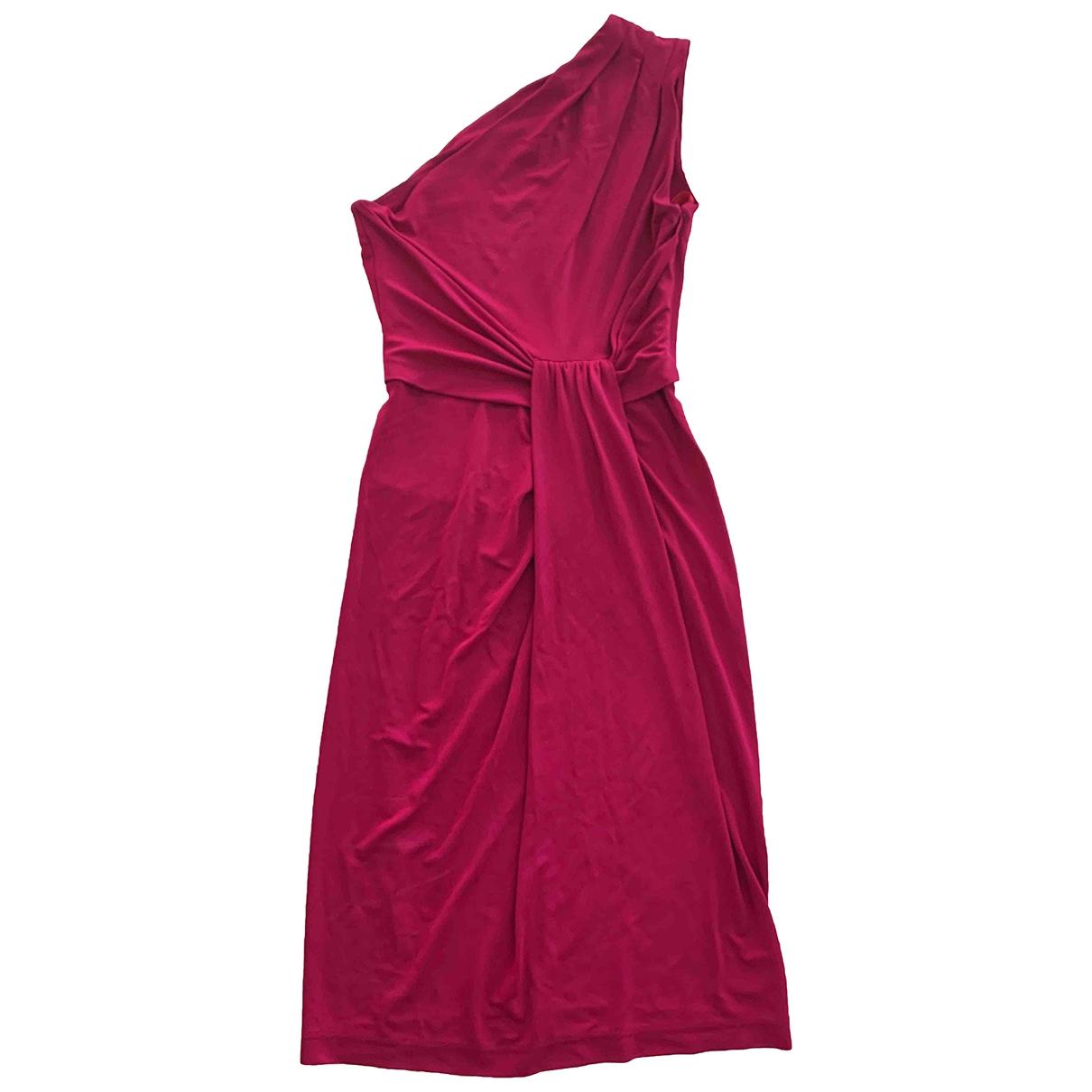 Michael Kors \N Kleid in  Rosa Viskose