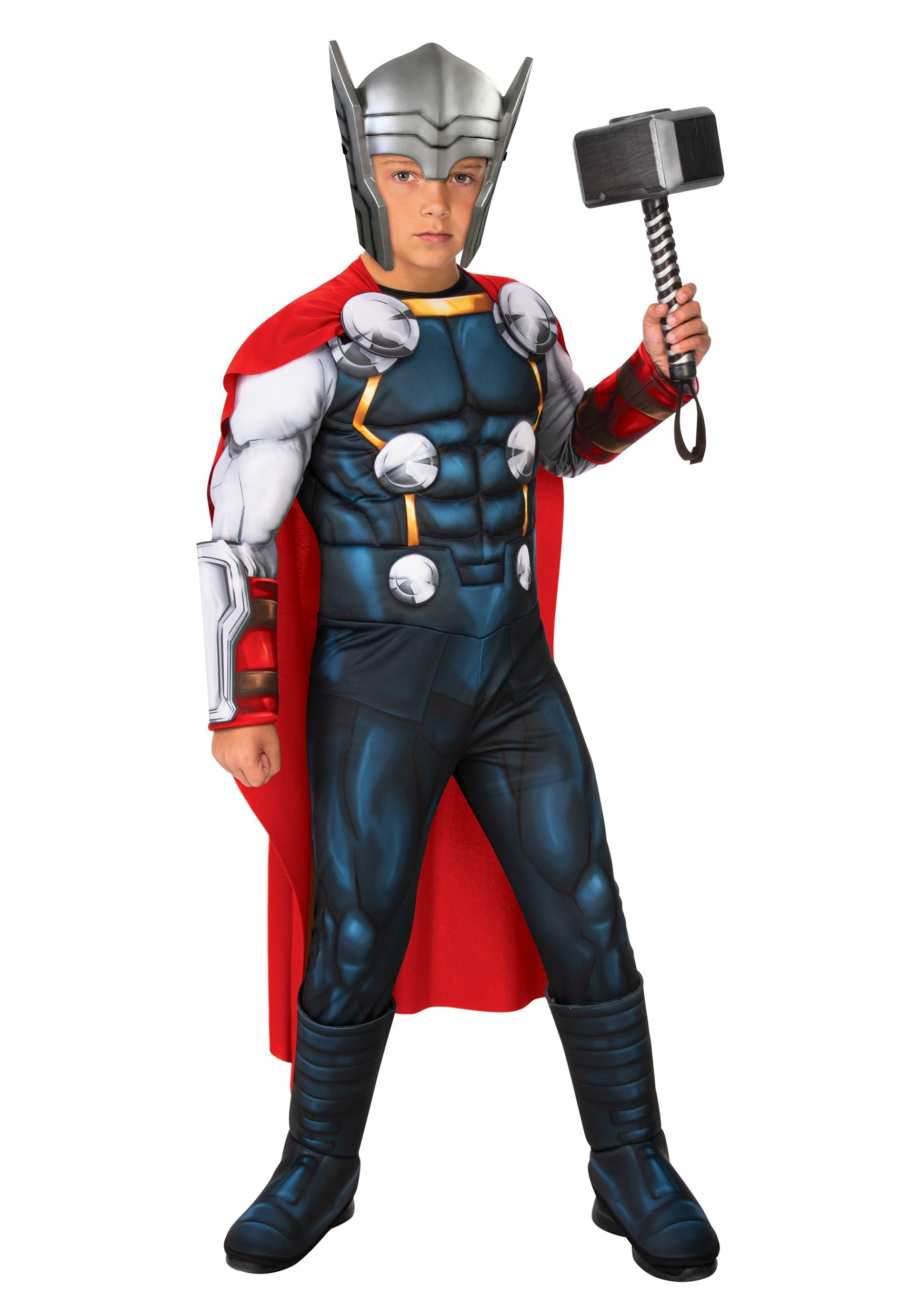 Classic Thor Deluxe Costume For Kids