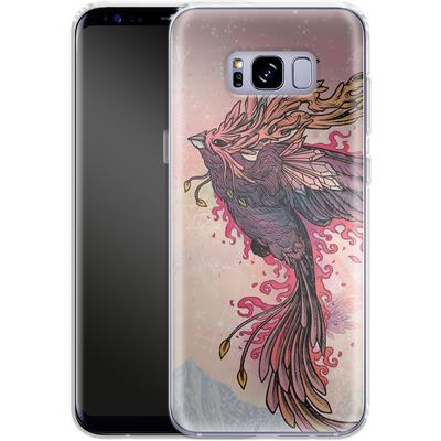 Samsung Galaxy S8 Plus Silikon Handyhuelle - Phoenix von Mat Miller