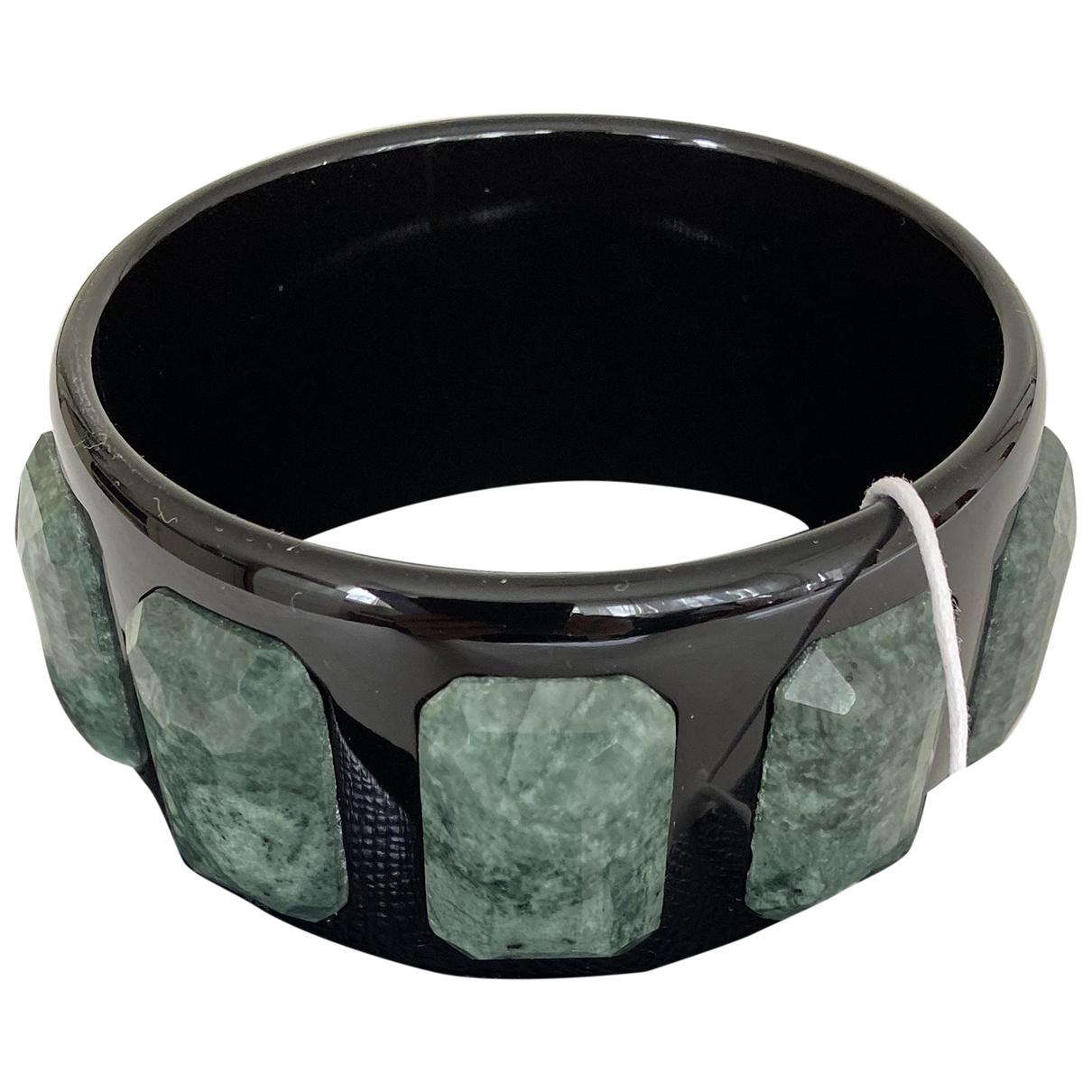 Prada - Bracelet   pour femme en metal - noir
