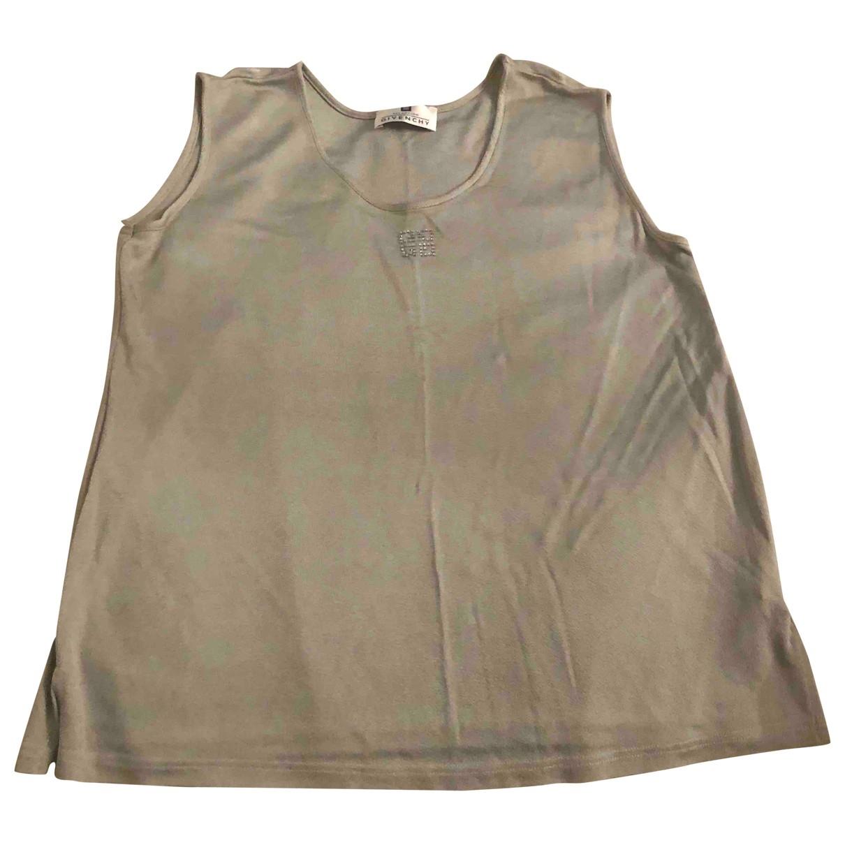 Givenchy - Top   pour femme - argente