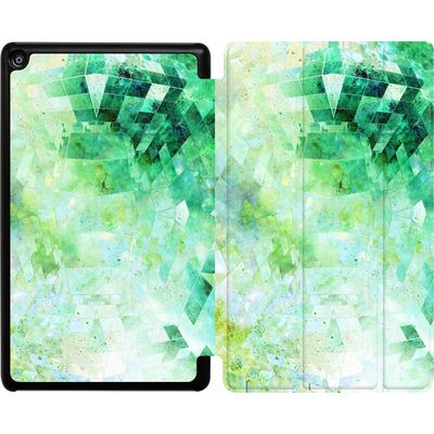 Amazon Fire HD 8 (2018) Tablet Smart Case - Occult Galaxy Structure von Barruf