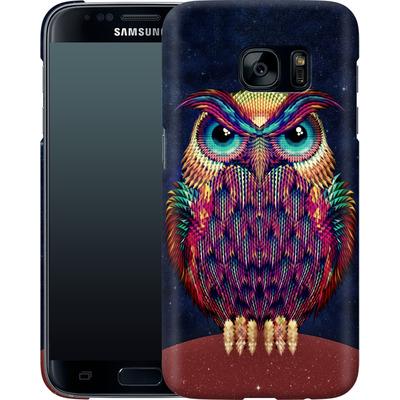 Samsung Galaxy S7 Smartphone Huelle - Owl von Ali Gulec