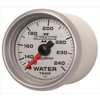 Auto Meter Ultra-Lite II Mechanical Water Temperature Gauge - 4932