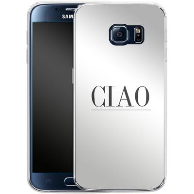 Samsung Galaxy S6 Silikon Handyhuelle - Just CIAO! von Erik Scholz