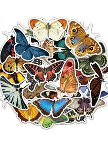 50pcs Butterfly Pattern Sticker