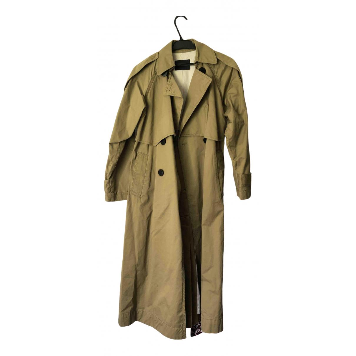 Mo&co \N Green Cotton coat for Women S International