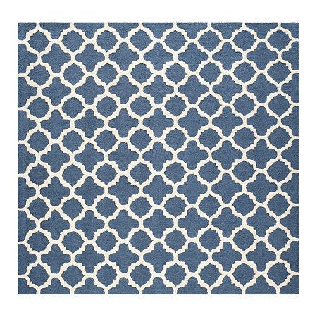 Safavieh Griselda Geometric Hand Tufted Wool Rug, One Size , Blue