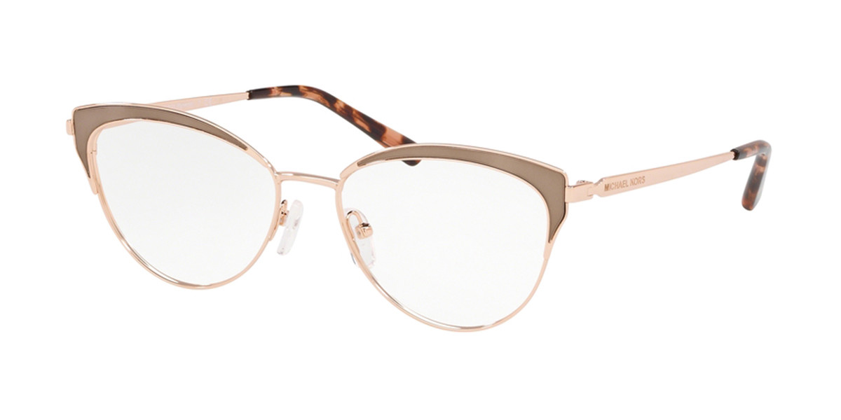 Michael Kors MK3031 WYNWOOD 1118 Women's Glasses Gold Size 53 - Free Lenses - HSA/FSA Insurance - Blue Light Block Available