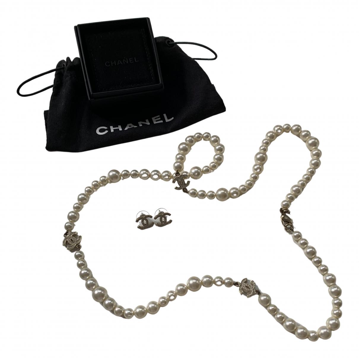 Chanel - Parure CC pour femme en metal