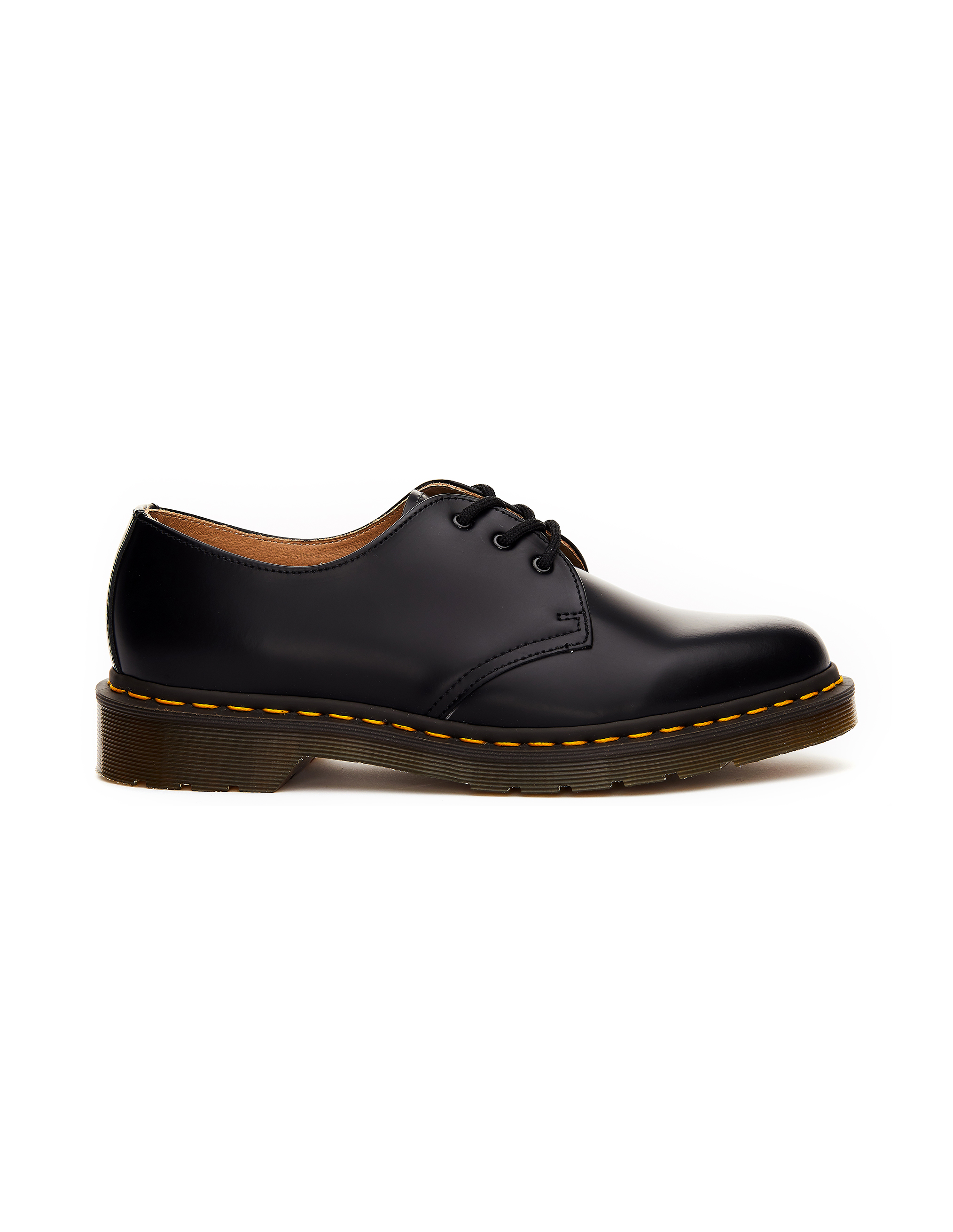 Comme des Garcons CdG Dr.Martens 1461 Black Leather Boots