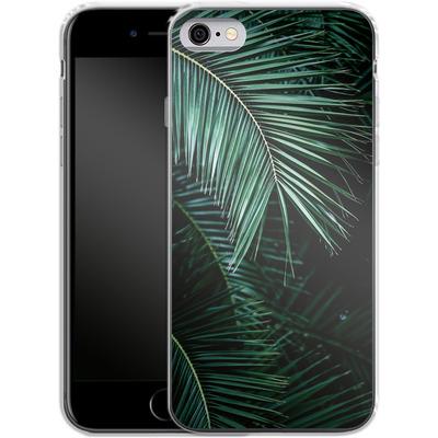 Apple iPhone 6 Silikon Handyhuelle - Palm Leaves 9 von Mareike Bohmer
