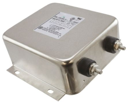 TE Connectivity EMI Filter - 132.8mm Length, 20 A, 250 V ac