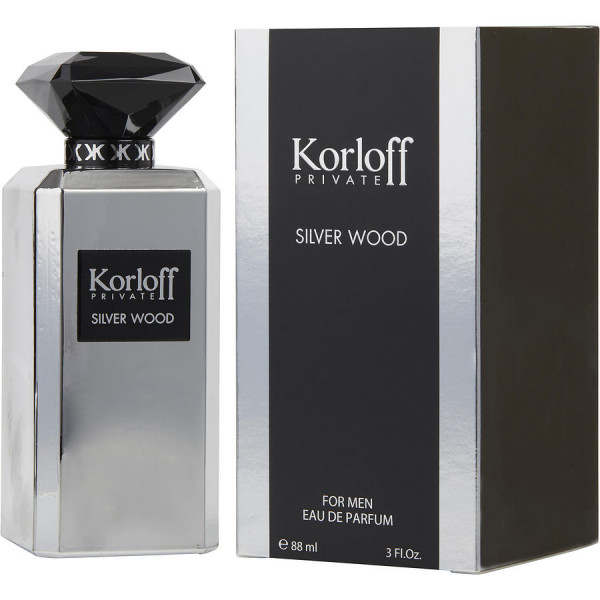Private Silver Wood - Korloff Eau de parfum 90 ml