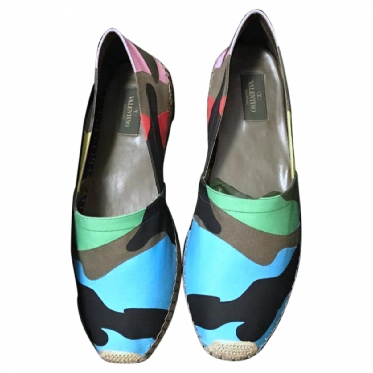 Valentino Garavani - Espadrilles   pour homme en toile - multicolore