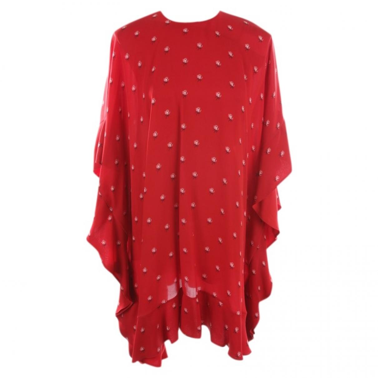 Valentino Garavani \N Kleid in  Rot Seide