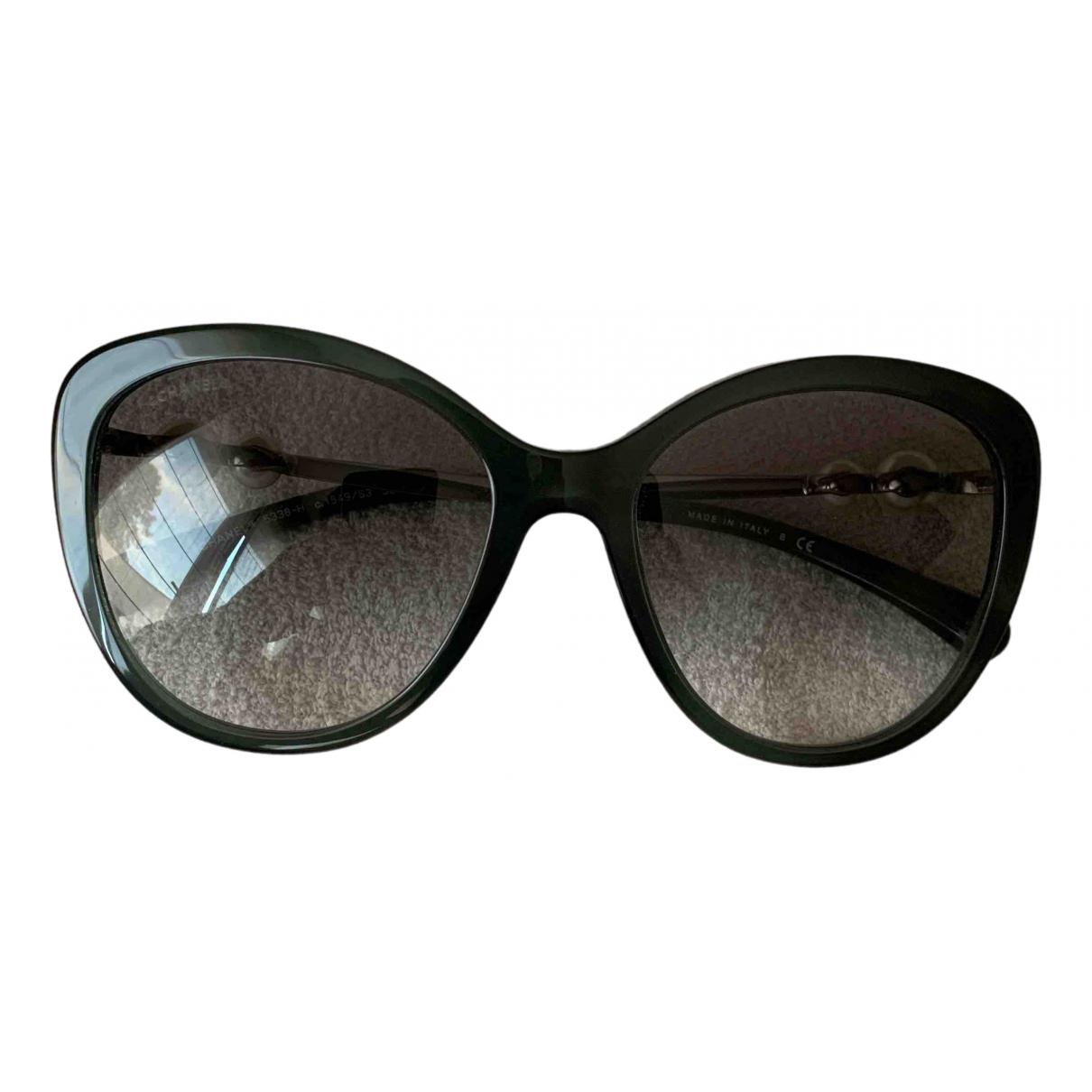 Chanel \N Khaki Sunglasses for Women \N