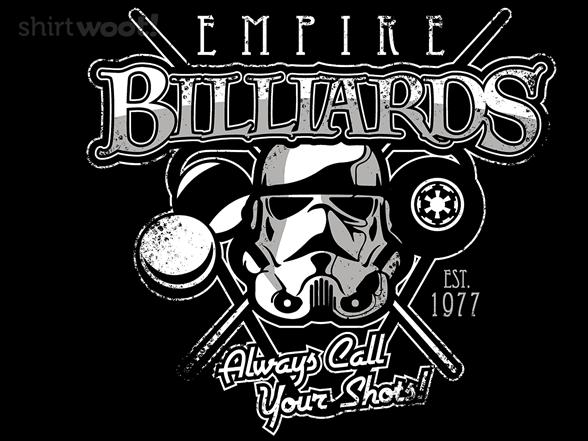 Empire Billiards T Shirt